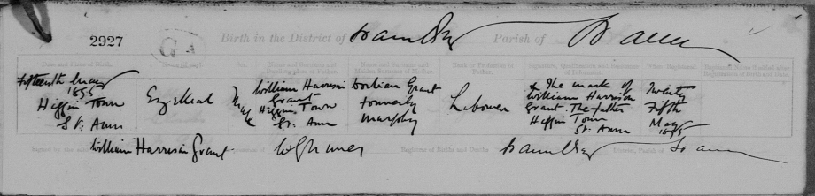 Ezekial Birth Certificate