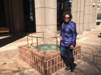 Andrene at the site of the 18th century cistern